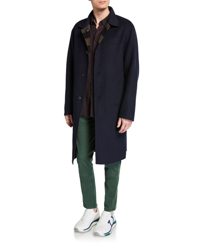 Men's Brent Reversible Wool Coat