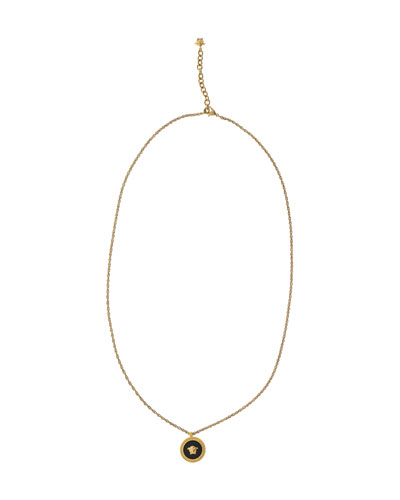 Men's Tribute Medusa Head Pendant Necklace