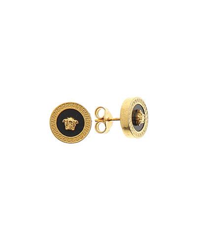 Men's Tribute Medusa Head Stud Earrings