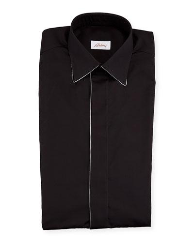Men's Formal Shirt w/ Contrast Piping