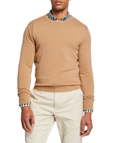 Men's Cesaire Cashmere Wool Crewneck Sweater