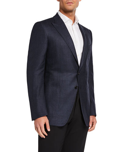 Men's O'Connor Hopsack Two-Button Jacket