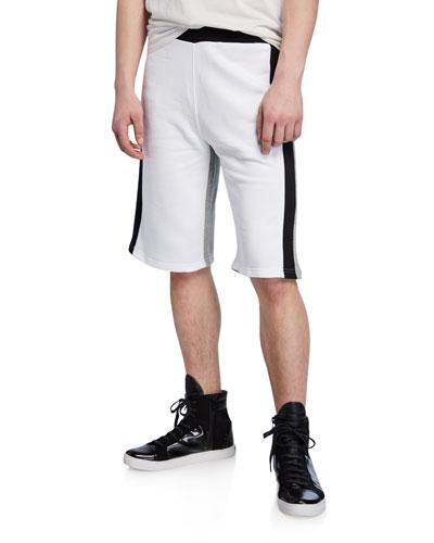 Men's Colorblock Logo Shorts