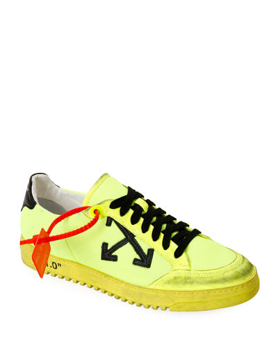 Men's 2.0 Arrow Low-Top Sneakers with Dirty Treatment