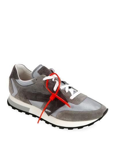Men's HG Runner Arrow  Sneakers, Light Gray