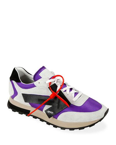 Men's HG Runner Arrow Sneakers, Violet/Black