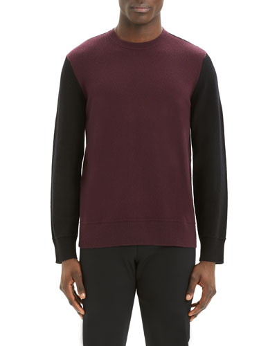 Men's Hills Colorblock Cashmere Sweater