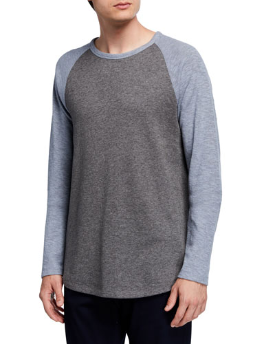 Men's Long-Sleeve Raglan Baseball T-Shirt