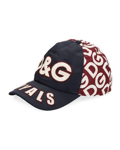 Men's DG Logo Mania Embroidered Baseball Hat