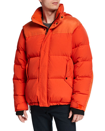 Men's Bubble Puffer Jacket