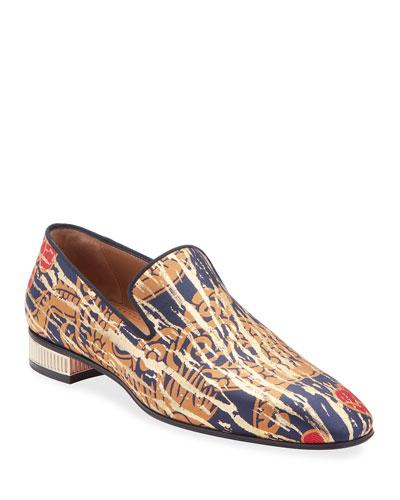 Men's Colonnaki Jacquard Loafers