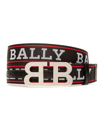 Men's Mirror Double-B Reversible Belt