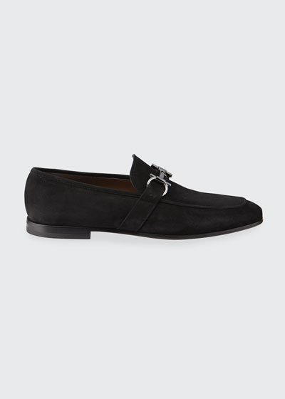 Men's Sherman Gancini Suede Loafers