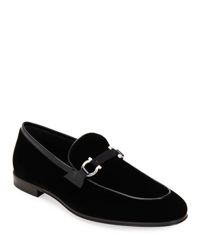 Men's Seral Velvet Loafers