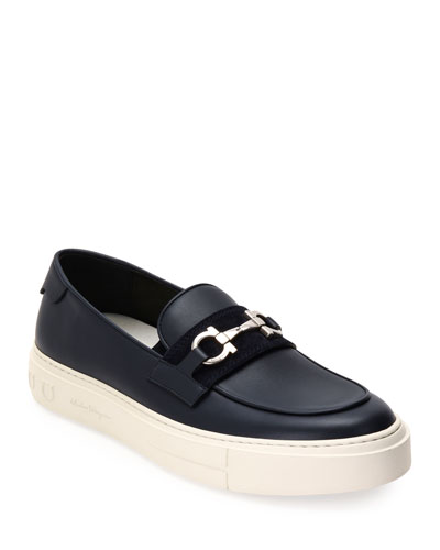 Men's Saturday Gancini-Bit Sneaker Loafers