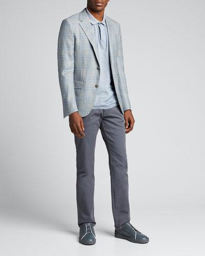 Men's 5-Pocket Canvas Pants