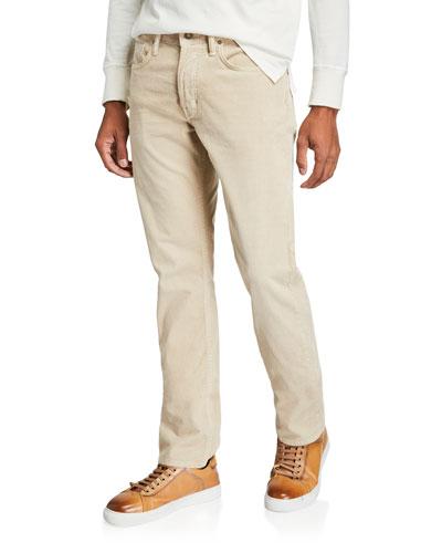 Men's 5-Pocket Straight-Fit Jeans