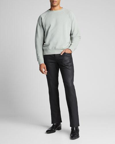 Men's Solid Jersey Sweatshirt