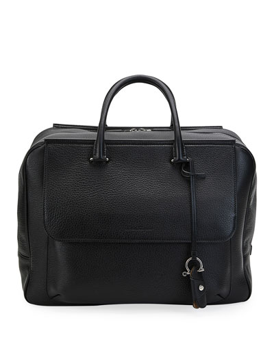 Men's Large Leather Tote Bag