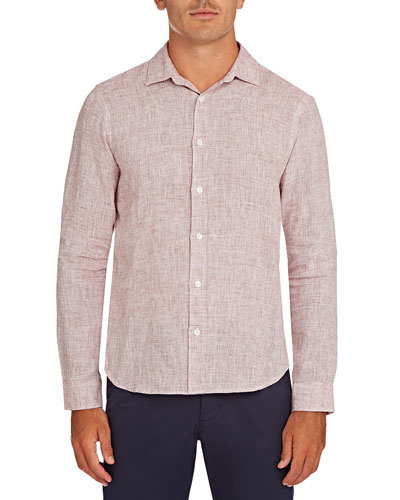 Men's Giles Lightweight Linen Sport Shirt