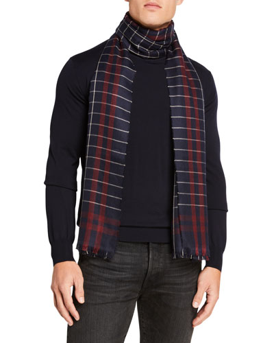 Men's Magellan Plaid Scarf