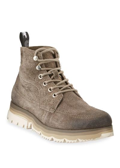 Men's Atlis Waterproof Suede Ankle Boots