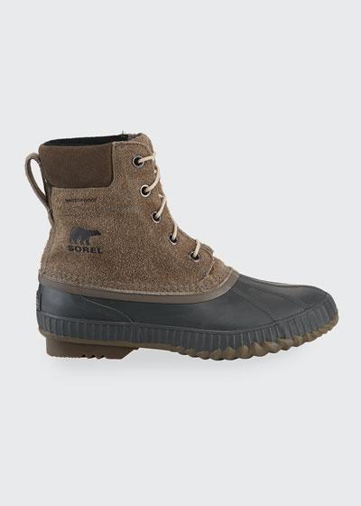 Men's Cheyanne II Waterproof Suede Duck Boots