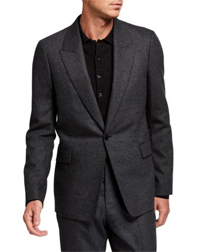Men's Mason Single-Button Jacket