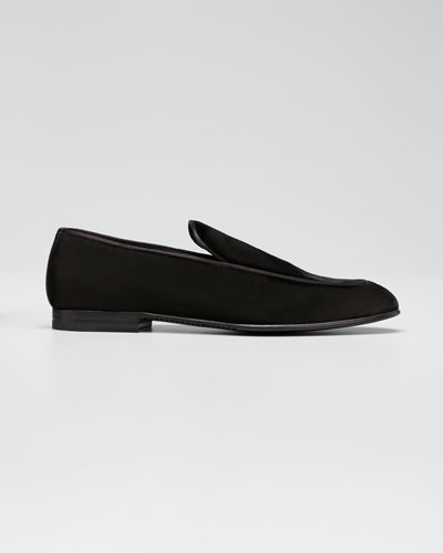 Men's Belgian Velvet Loafers