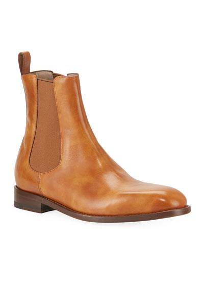 Men's Delsa Leather Chelsea Boots