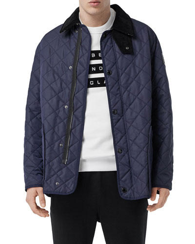 Men's Cotswold Quilted Car Coat