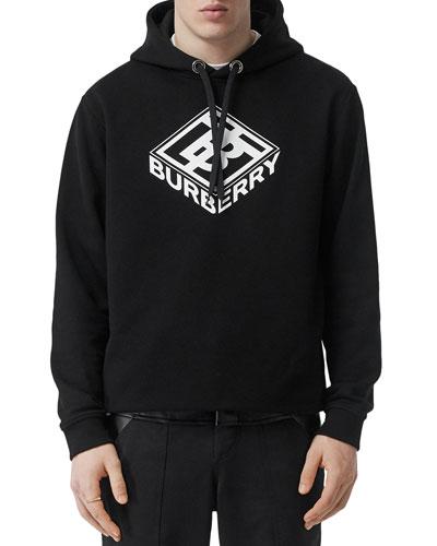 Men's TB Box Logo Hoodie Sweatshirt