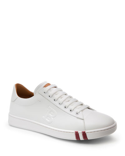 Men's Asher Leather Low-Top Sneakers