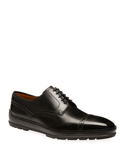 Men's Reigan Leather Derby Sneakers