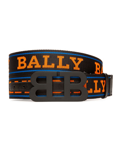 Men's Mirror 40mm Reversible Logo Belt
