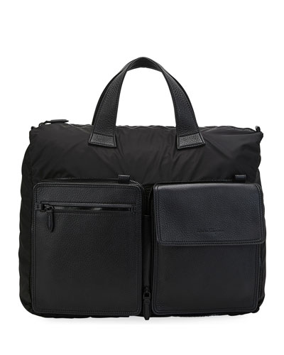 Men's Tornabuoni Collapsible Duffel/Crossbody Bag