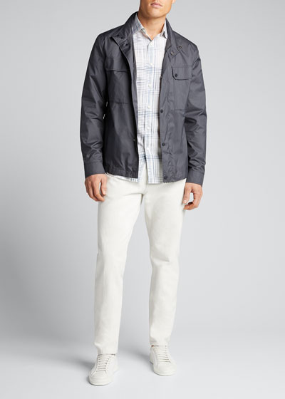 Men's Microfiber Safari Jacket