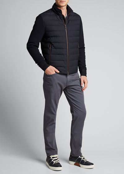 Men's Elements Quilted-Front Jacket