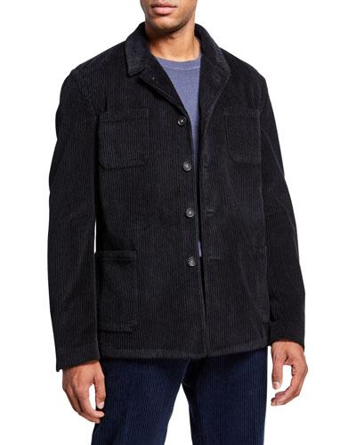 Men's 4-Pocket Corduroy Jacket