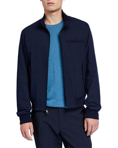 Men's Harrington Cotton-Blend Jacket