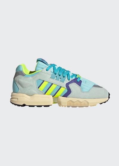 Men's ZX Torsion Chunky Colorblock Sneakers