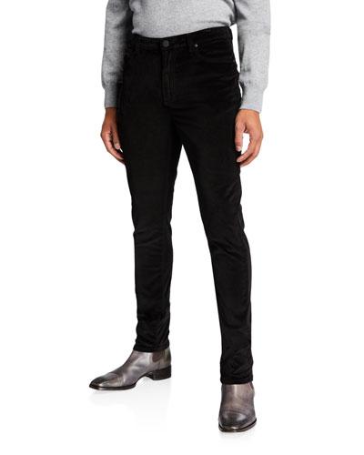 Men's Brando Velvet Slim Jeans