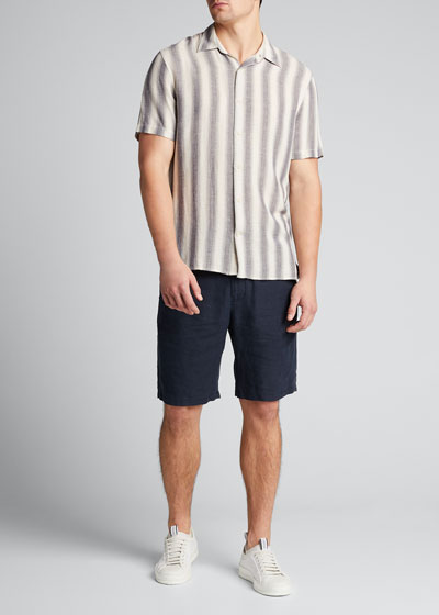 Men's Shadow Stripe Sport Shirt