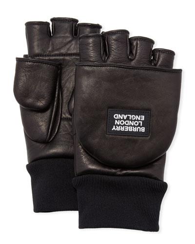 Men's 3-in-1 Lamb Leather Gloves