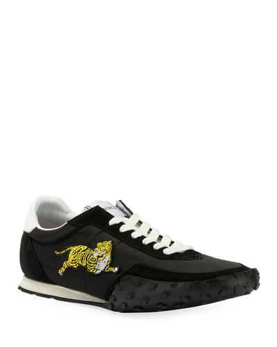 Men's MOVE Vintage Tiger Nylon/Suede Sneakers