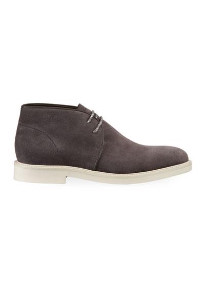 Men's Trivero Suede Chukka Boots