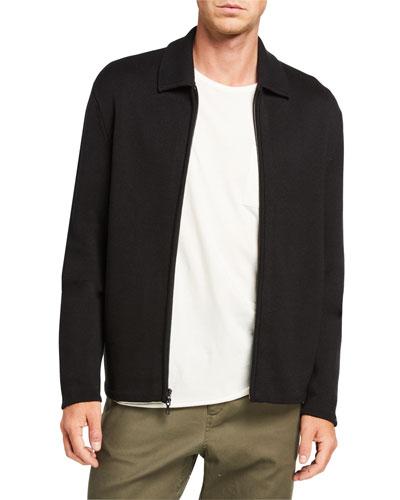 Men's Melrose Zip-Front Shirt Jacket