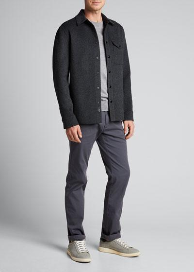 Men's Principle Wool Shirt Jacket