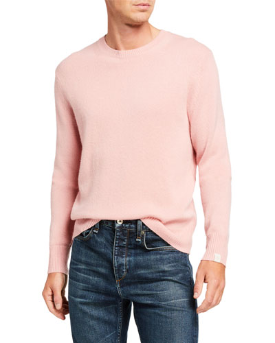Men's Haldon Crewneck Cashmere Sweater
