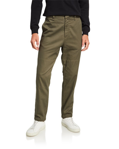 Men's Corbin Straight-Leg Twill Pants